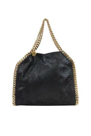 Stella McCartney Umhängetasche in Schwarz aus Leder