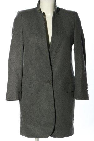 Stella McCartney Cappotto in lana grigio chiaro puntinato stile casual
