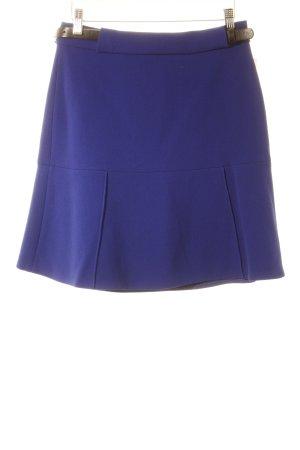 Stella McCartney Falda de lana azul acero elegante