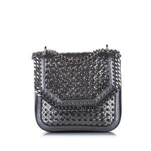 Stella McCartney Woven Falabella Crossbody Bag