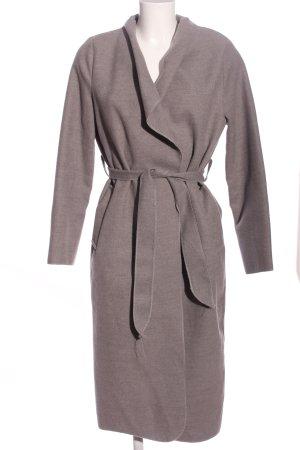 Stella Morgan Floor-Lenght Coat light grey casual look
