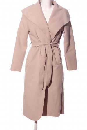 Stella Morgan Floor-Lenght Coat pink business style