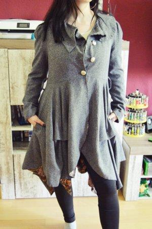 Stella Morgan Between-Seasons-Coat grey-light grey