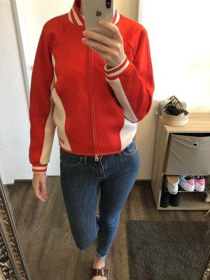 Adidas by Stella McCartney Bomberjack wit-rood Polyester