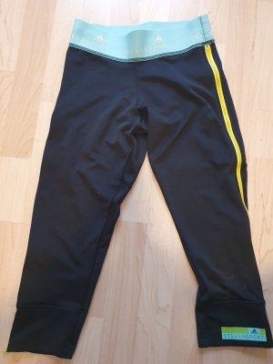 Adidas by Stella McCartney Sportbroek zwart-turkoois