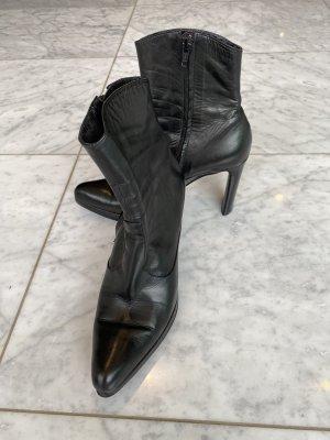 Stephane Kelian schwarze Stiefelette