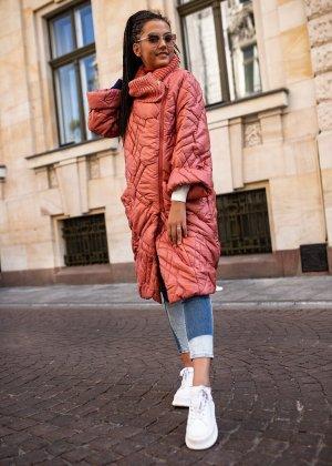 Bastet Pikowana kurtka jasnoczerwony