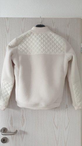Aigle Pikowana kurtka w kolorze białej wełny-jasnożółty