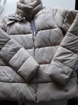 Artigli Quilted Jacket gold-colored-oatmeal