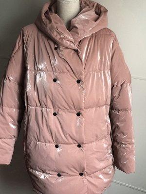 Stepp-Mantel mit Kapuze von Zara