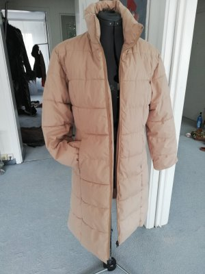 Quilted Coat camel polyester