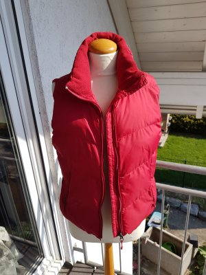 Livre Quilted Gilet red