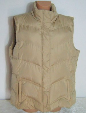 Basic Line Quilted Gilet beige polyester