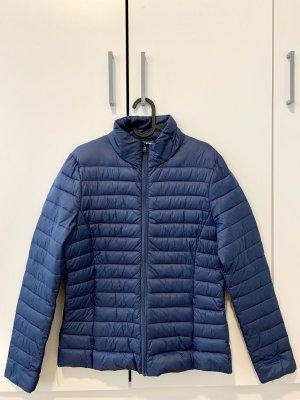 UP Fashion Pikowana kurtka stalowy niebieski