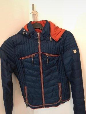 Zalando Quilted Jacket orange-blue