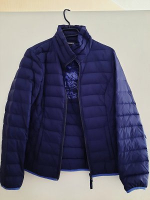 Street One Quilted Jacket dark blue