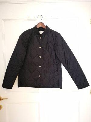 Selected Femme Quilted Jacket dark blue