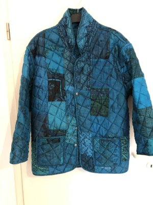 Reversible Jacket multicolored mixture fibre