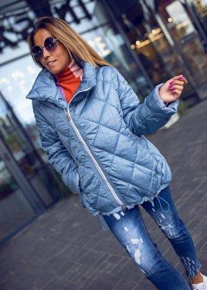 Bastet Pikowana kurtka niebieski