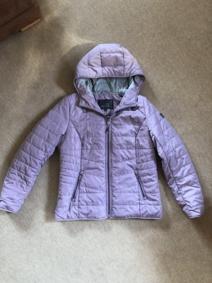 Cecil Quilted Jacket mauve polyamide