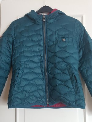 Campus Quilted Jacket petrol