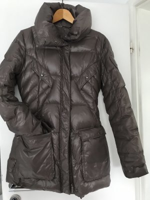 Add Quilted Jacket grey brown