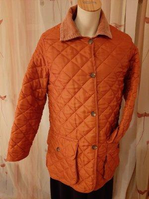 DAKS Signature Quilted Jacket dark orange