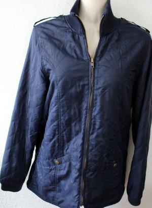 Cyrillus Quilted Jacket dark blue polyamide