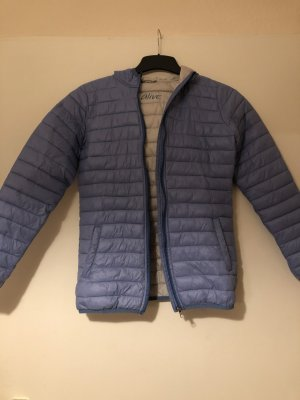 Alive Quilted Jacket azure-light grey