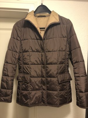 Private Label Quilted Jacket light brown-camel