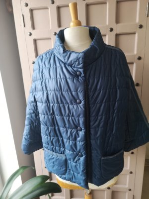 Made in Italy Quilted Jacket steel blue