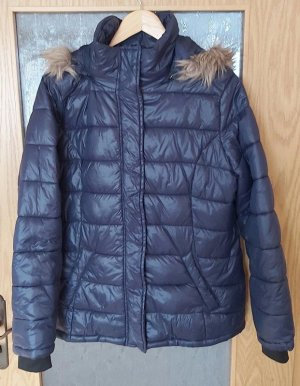 UP Fashion Gewatteerd jack donkerblauw Polyamide