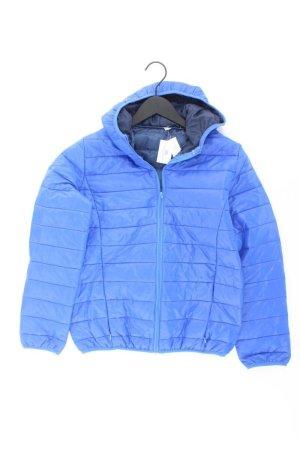 Pikowana kurtka niebieski-niebieski neonowy-ciemnoniebieski-błękitny Poliester