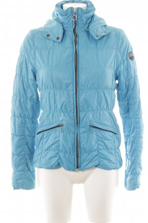 Steppjacke hellblau Steppmuster Casual-Look