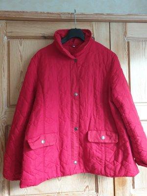 Charles Vögele Quilted Jacket red