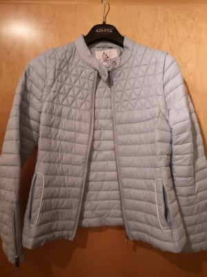 Quilted Jacket azure