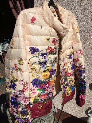 Chaqueta acolchada multicolor