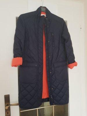 H&M L.O.G.G. Quilted Jacket orange-dark blue