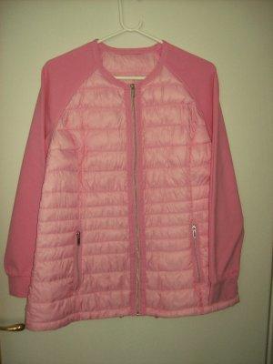 C&A Giubbotto trapuntato rosa Tessuto misto