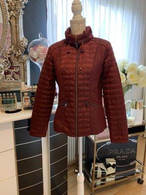 Charles Vögele Quilted Jacket bordeaux polyester