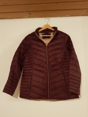 C&A Quilted Jacket blackberry-red-pink