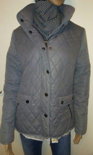 Bexleys Quilted Jacket grey-light grey mixture fibre