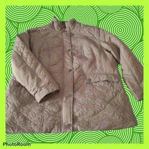 Charles Vögele Oversized Jacket beige-grey brown mixture fibre