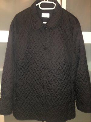 Frank Eden Quilted Jacket dark blue