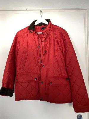 Ralph Lauren Giubbotto trapuntato rosso Tessuto misto