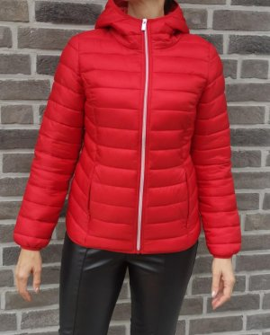 Street One Quilted Jacket red