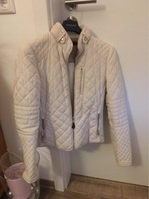 Zara Chaqueta acolchada blanco puro