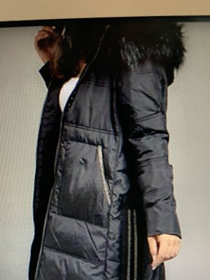 Jette Quilted Coat black