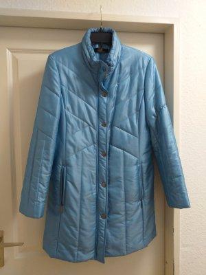 Eugen Klein Pikowany płaszcz jasnoniebieski