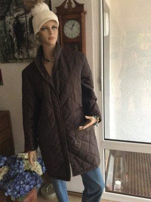 Tchibo / TCM Quilted Coat brown polyamide